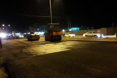 قطع طريق رئيس في بغداد الليلة