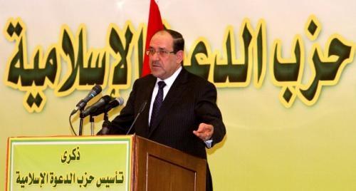 الدعوة تعلق على نية ترشح المالكي لمنصب سيادي