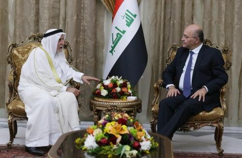 صالح يؤكد للهميم أهمية ابراز دور المؤسسات الدينية في حفظ وحدة الصف الوطني