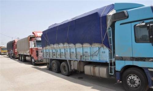 منع دخول عجلات الحمل الى بغداد إعتباراً من الخميس