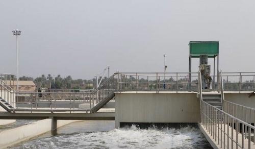 افتتاح مشروع ماء أبي غرق في بابل