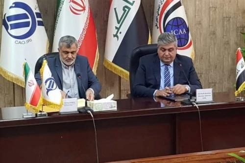 العراق وإيران يتفقان على زيادة الرحلات الجوية