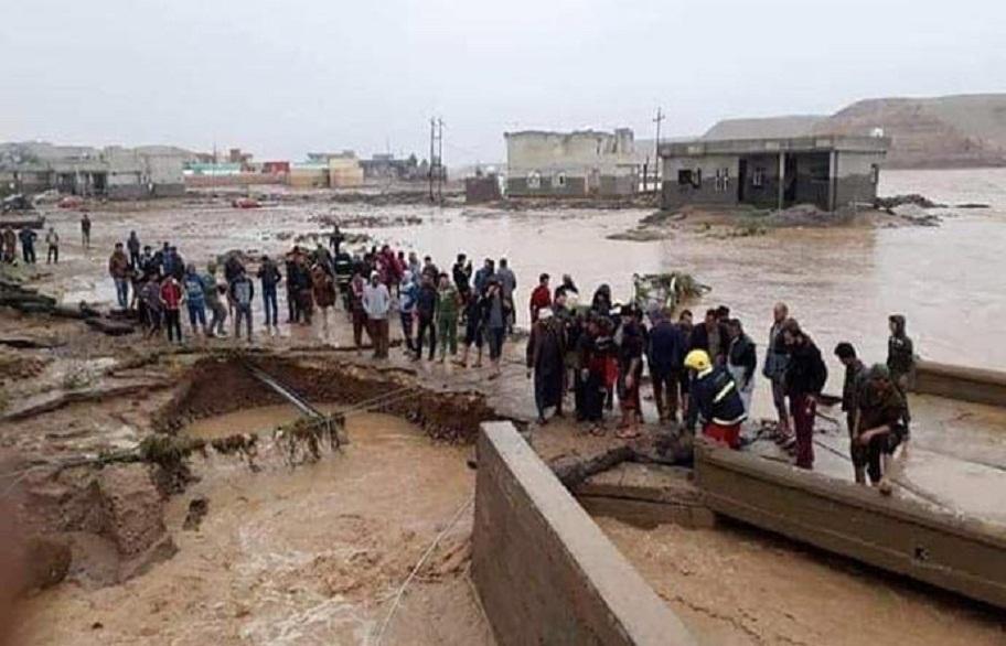 الوقف السني :يفتح المساجد امام المواطنين المتضررين من الامطار والسيول