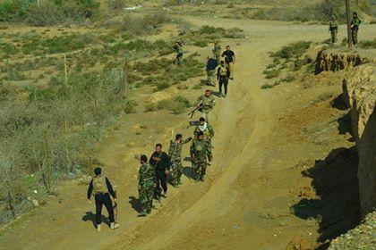 الحشد الشعبي: ينفذ عملية تفتيش شرقي محافظة صلاح الدين
