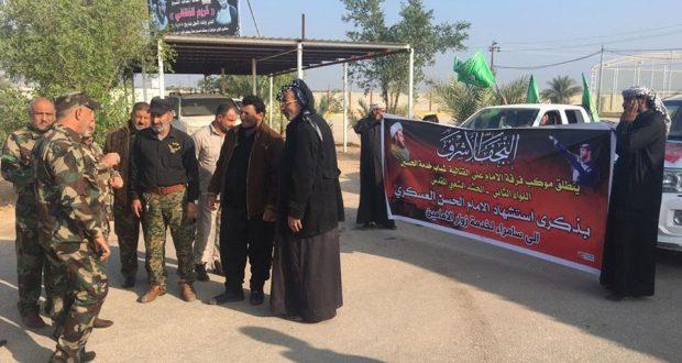 """اللواء الثاني في """"الحشد"""" يستعد للمشاركة بتأمين زيارة الامام الحسن العسكري (ع) في سامراء"""