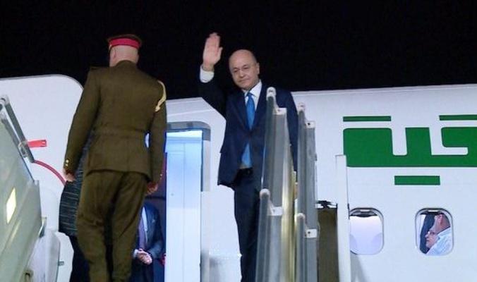 رئيس الجمهورية :يصل الى بغداد بعد جولة إقليمية