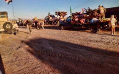 """""""الحشد الشعبي """"يعزز قدرته الصاروخية على الحدود ويحدد أهدافاً حيوية لداعش لمعالجتها"""