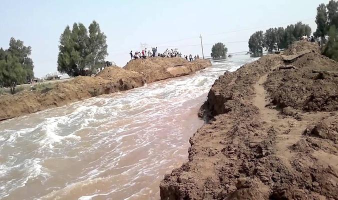 الامطار والسيول تنقذ اهوار العراق وترفع الخزين المائي في دجلة