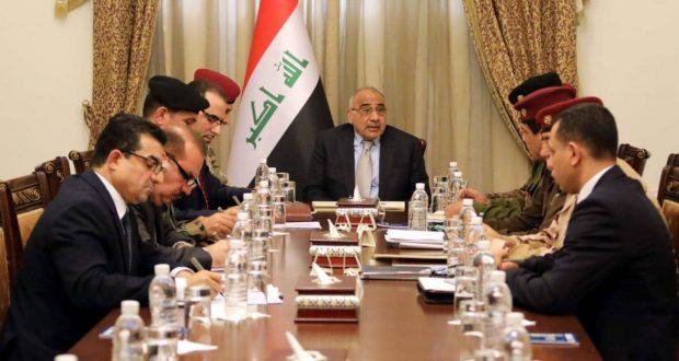 عبد المهدي: عملياتنا مستمرة في تتبع الخلايا الإرهابية