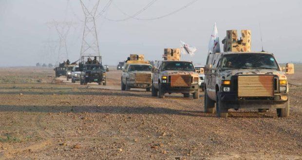 اللواء 313 يباشر بعملية استباقية مشتركة غربي سامراء
