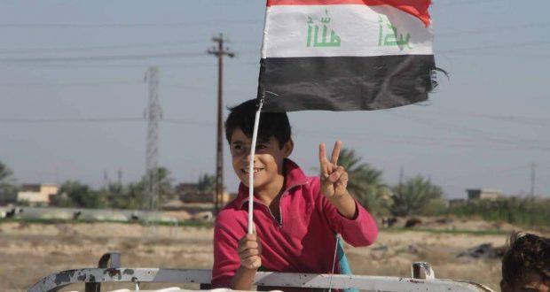 الحشد الشعبي يعيد 63 عائلة نازحة الى مناطقها غرب سامراء