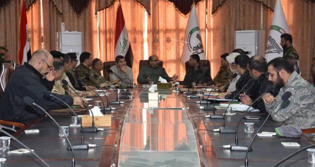 معاونية التدريب تؤكد على استمرار الجهوزية القتالية للحشد الشعبي