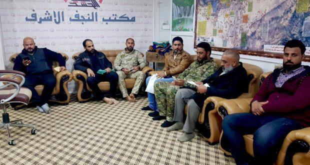 الوقف الشيعي يخصص مساعدات مالية وطبية لجرحى الحشد الشعبي