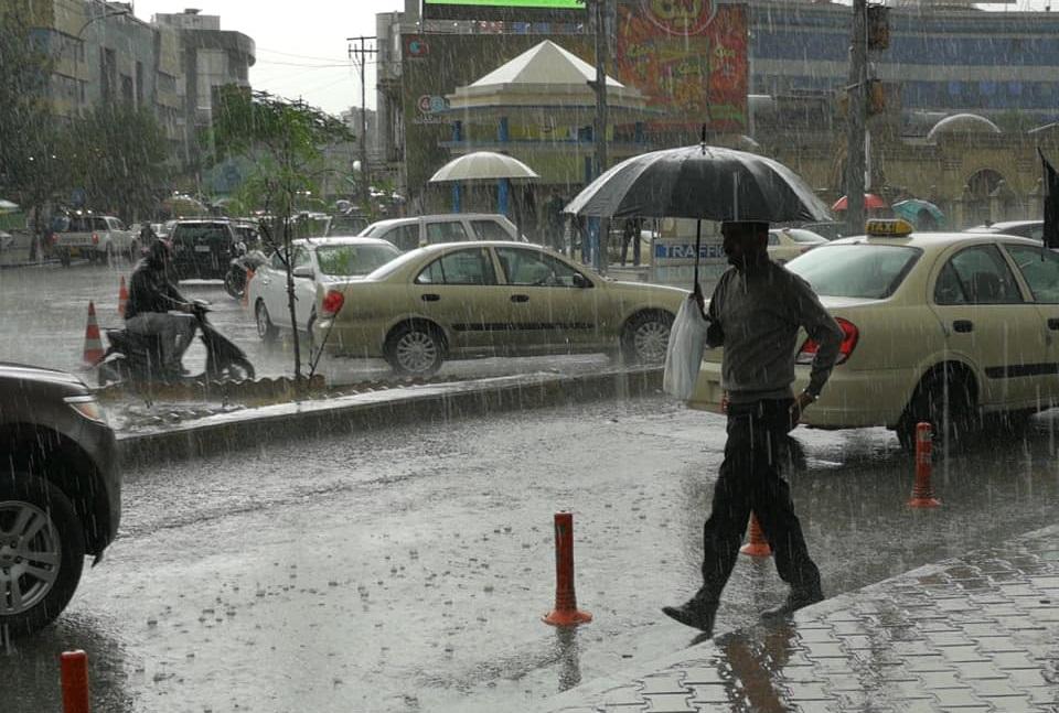 آخر توقعات الأمطار اليوم
