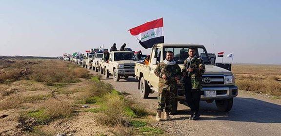 الحشد يضبط ثلاثة مهربين بحوزتهم مواد معدة للتهريب قرب الحدود العراقية السورية