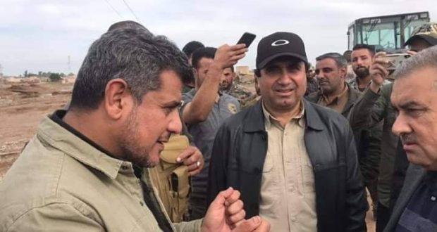 الحشد الشعبي ينقذ مخيما للنازحين من الغرق شرق الموصل