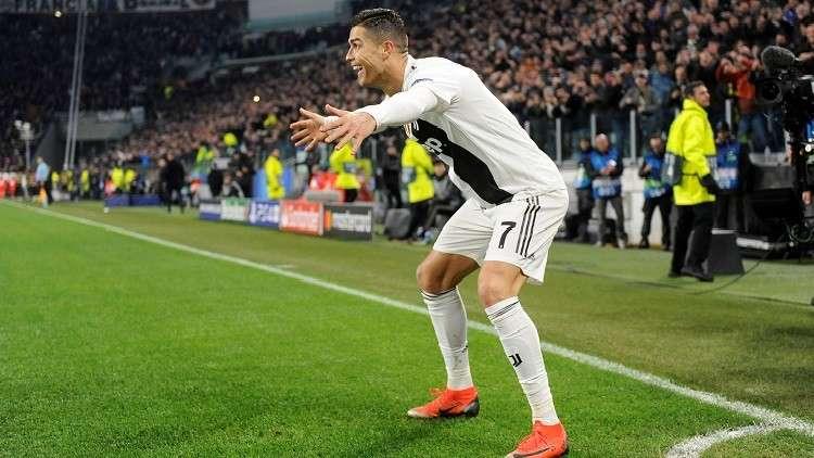 رونالدو يواصل تحطيم الأرقام القياسية في دوري أبطال أوروبا