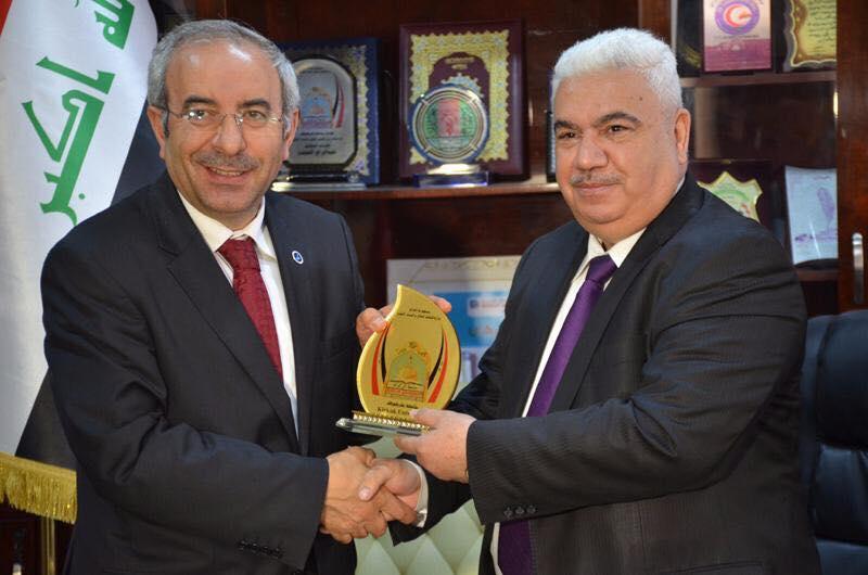 جامعة كركوك تبرم اتفاقا للتعاون مع جامعة تركية