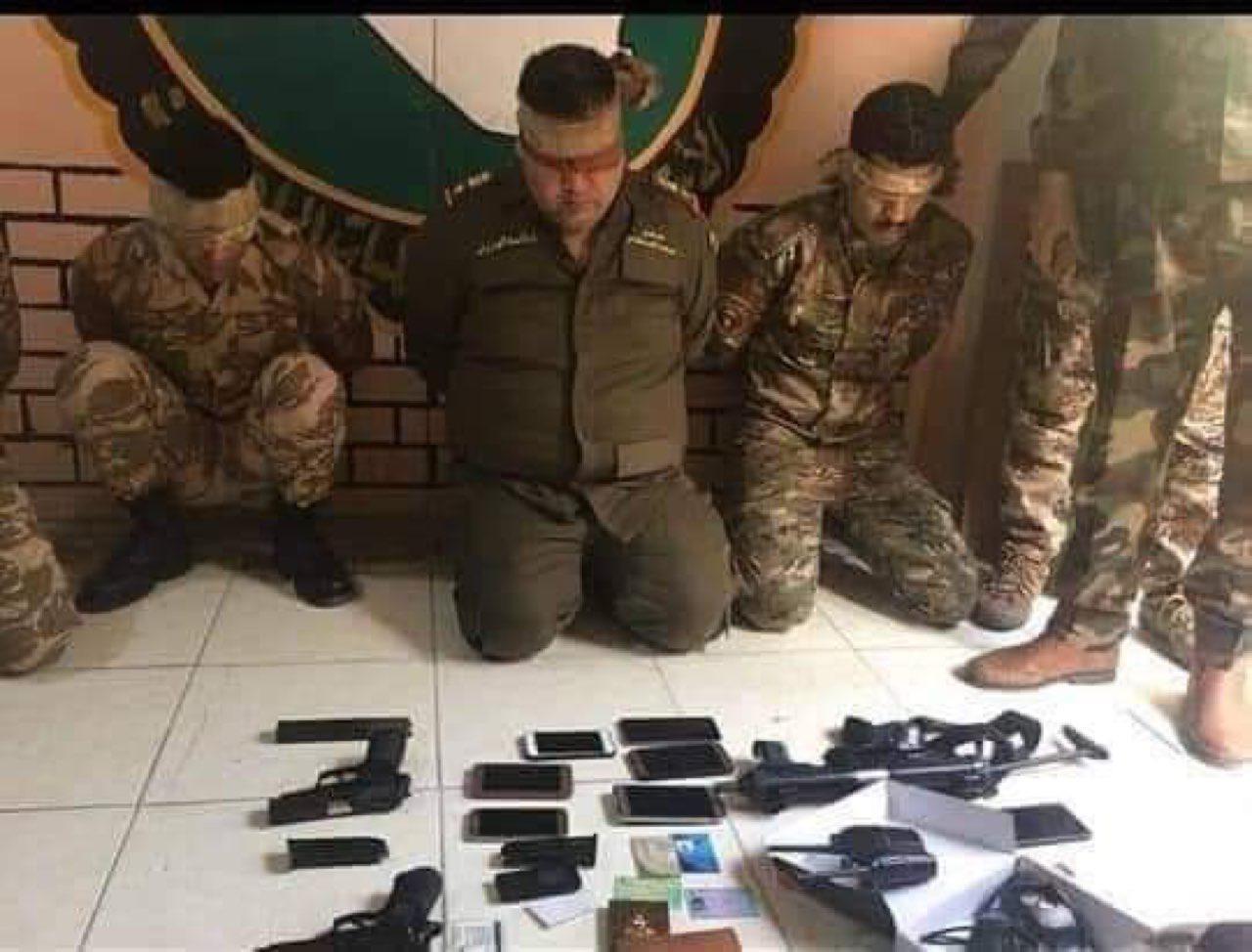 ذي قار القبض على عصابة تدعي الإنتساب لمكتب عبد المهدي