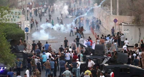 القضاء: إطلاق سراح ٨ متهمين شاركوا في تظاهرات البصرة