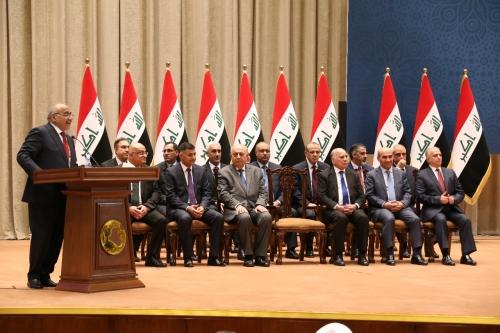 النصر: إقالة الوزراء يستند على طلب عبد المهدي