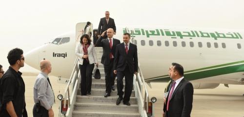 برهم صالح ووفد رفيع المستوى يتوجه الى الكويت في جولة خليجية