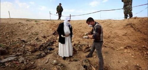 """إعتبار سنجار مدينة """"المقابر الجماعية"""" للأيزيديين"""