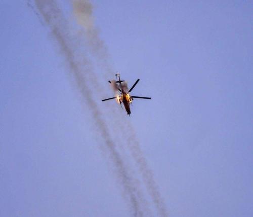 طيران الجيش يقتل 10 دواعش ويدمر أوكارهم بأيسر الشرقاط