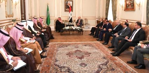 وزيران كبيران في السعودية يبلغان صالح برغبة الإستثمار في العراق
