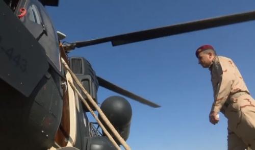 رئيس أركان الجيش يصل الى الموصل