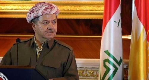 بارزاني يصل الى بغداد في أول زيارة بعد إستفتاء الإنفصال