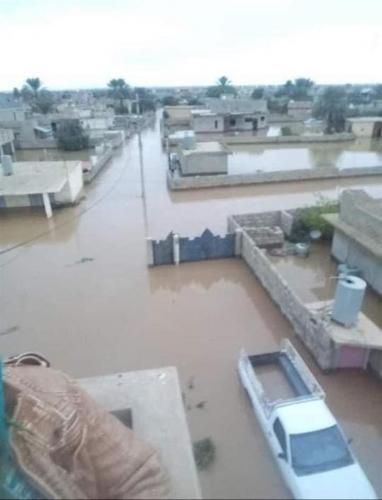السيد الصدر يدعو الى إغاثة ضحايا السيول ويعلن الدعم