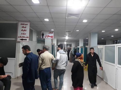 السليمانية: وفاة وإصابة 52 شخصاً بسبب الهزة الأرضية