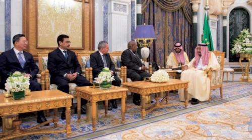 ملك السعودية يستقبل سفير العراق الجديد
