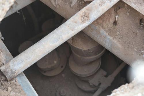 تدمير معمل لتصنيع العبوات ونفق داعشي بجزيرة الموصل