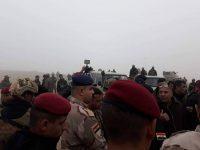 الحشد والجيش ينفذان عملية أمنية جنوب شرق الموصل