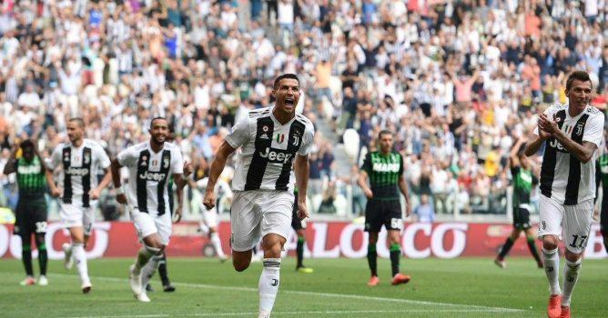 رونالدو يقود يوفنتوس للفوز على سامبدوريا  في الدوري الإيطالي