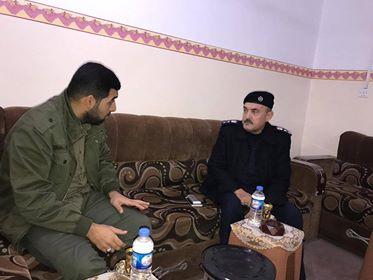 مدير شرطة تلعفر يشيد بجهود الحشد الشعبي في حماية المدينة