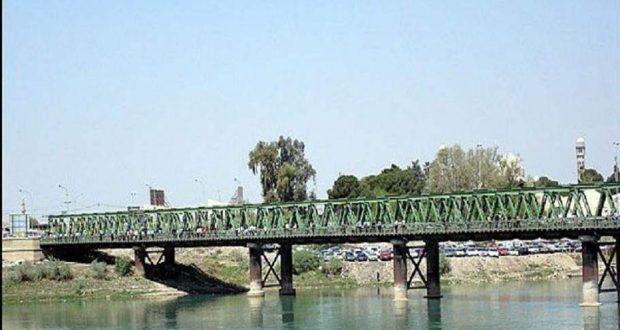 الحشد  يعيد تأهيل جسرين تضررا جراء السيول في نينوى