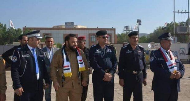 ماجرى أمام مقر هيئة الحشد في ذي قار بيوم النصر
