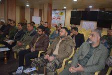 معاونية التدريب في الحشد تقيم المؤتمر التدريبي الأول في قاطع صلاح الدين (صور)