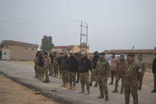 بالصور.. اللواء 29 بالحشد ينظم دورة لرفع القدرات القتالية لمقاتليه غرب الموصل