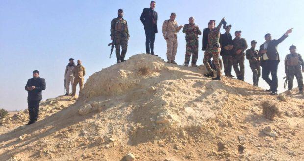 اللواء الثاني في الحشد الشعبي ينفذ عملية أستباقية في بادية النجف