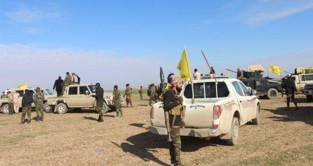 الحشد والقوات الامنية ينهيان تمشيط خمسة مناطق في صلاح الدين