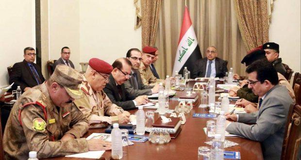 عبد المهدي يصدر توجيهات وأوامر بشأن تأمين الحدود العراقية السورية