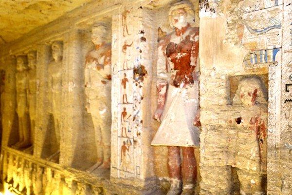"""مصر تعثر على مقبرة """"سليمة"""" عمرها أكثر من 4 آلاف سنة"""