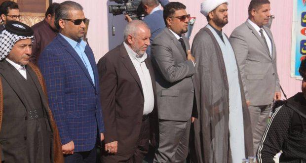 هيئة الحشد الشعبي في ميسان تكرم عوائل الشهداء