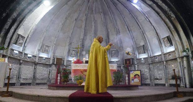 هكذا أحتفل المسيحيون بميلاد السيد المسيح (ع) في سهل نينوى
