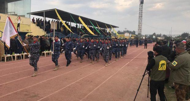 اليوم الأول لمهرجان بلد الصمود الدولي إستعراض عسكري للحشد والقوات الأمنية