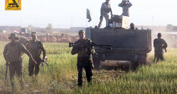 الجيش والحشد ينفذان عملية تفتيش في جزيرة الحضر